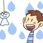 梅雨でもなんでもないけど梅雨の絵と、真夏ということですいかの絵追加